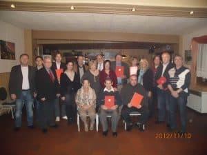 Jubilare im SPD Ortsverein Düren-Nord