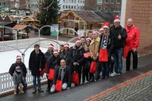Weihnachtsgespräche der SPD in der Stadt Düren